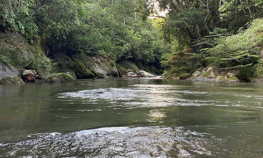Río Sarabando, Reserva Natural y Ecoturística El Horeb, Belén de los Andaquíes, Caquetá.
